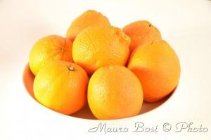 Piatto arance