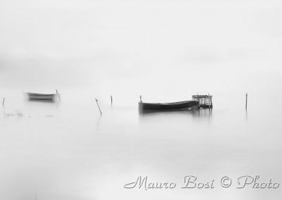 Barca nella Pialassa Baiona
