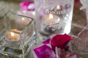 candele rose festa Palazzo Manzoni