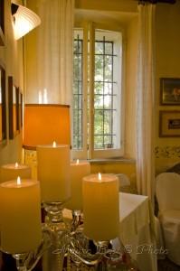 Candele atmosfera Palazzo Manzoni San Zaccaria Ravenna