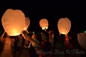 lanterne cinesi festa matrimonio Milano Marittima