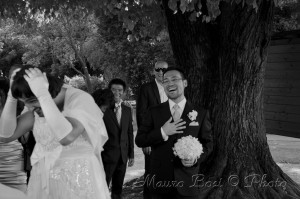 Matrimonio scherzo sposa