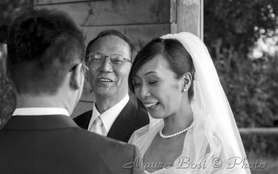 Matrimonio giapponese a Ravenna
