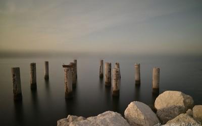 Pali a Marina di Ravenna