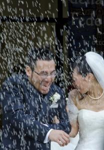 Sposi sotto il riso Campiano Ravenna