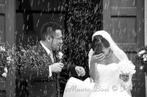 Matrimonio riso uscita Pieve Campiano