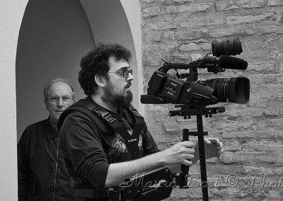 Steadycam, Francesco indossa l'armatura