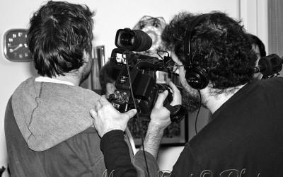 Alessandro e Francesco operatori video e audio