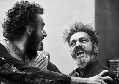 Inferno di Dante  - Teatro delle Albe - I Diavoli si preparano