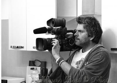 Alessandro operatore camera a mano