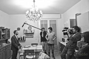 Foto di scena cortometraggio, interno