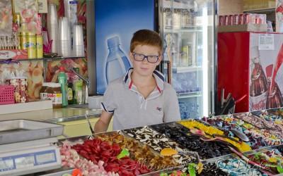 Ferrara giovane venditore