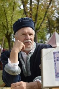 La professione notarile in un costume rinascimentale a Ravenna