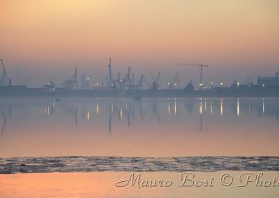 Paesaggio Industriale dalla pialassa Piomboni