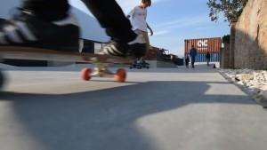 Skateboard Ravenna quartiere Darsena