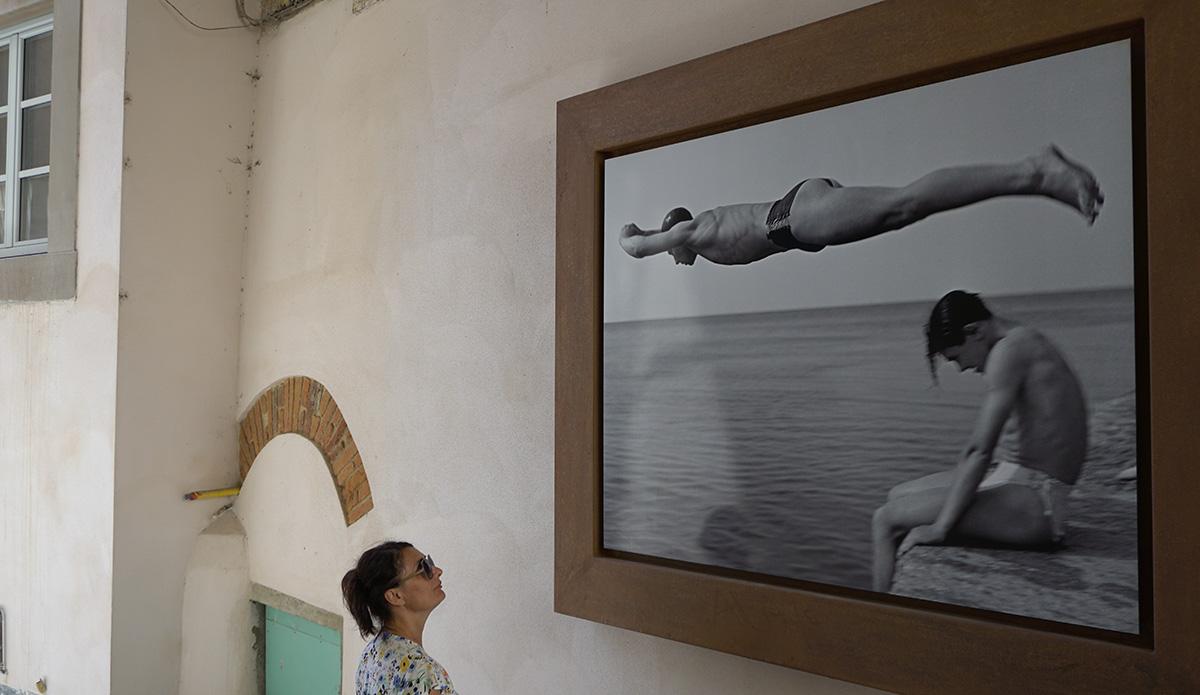 Bibbiena pannello foto Nino Migliori