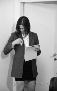 Emilia foto di scena cortometraggio Lo Scrivente