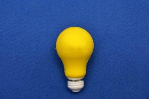 lampadina idea per sito internet