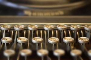 Tastiera macchina da scrivere portatile Hammond