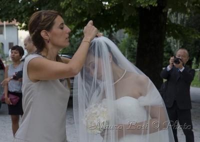 Matrimonio: la sposa e il velo