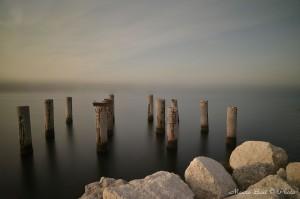 Pali diga foranea sud Marina di Ravenna