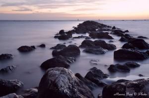 Scogli frangi onde Punta Marina Ravenna