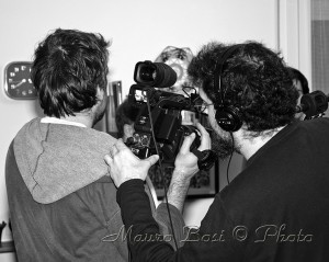 foto backstage cortometraggio