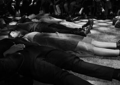 Inferno di Dante - Teatro delle Albe - Coro di Paolo e Francesca
