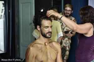 Lorenzo Soleri si prepara ad interpretare Apollo