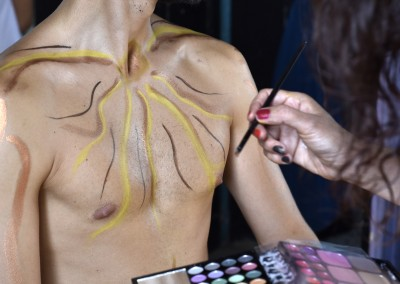 Body painting di Sonia su Apollo