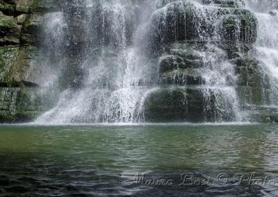 Alfero, la cascata