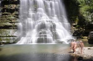 La cascata dell'Alferello