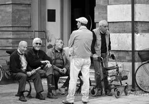 Chiachiere sulla panchina