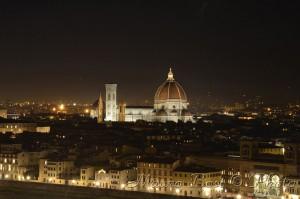 Firenze da Piazzale Michelangelo di notte