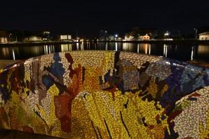 La testa della Darsena, canale Candiano, Ravenna